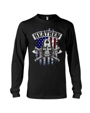 HEATHEN VIKING SHIRT Long Sleeve Tee thumbnail