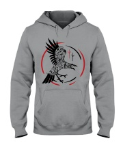 VIKING RAVEN - VIKING SHIRT Hooded Sweatshirt thumbnail