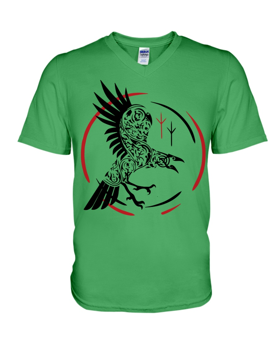 VIKING RAVEN - VIKING SHIRT V-Neck T-Shirt