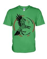 VIKING RAVEN - VIKING SHIRT V-Neck T-Shirt front