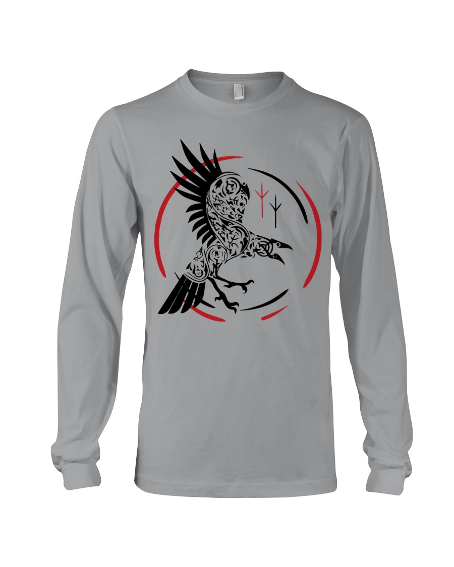 VIKING RAVEN - VIKING SHIRT Long Sleeve Tee showcase