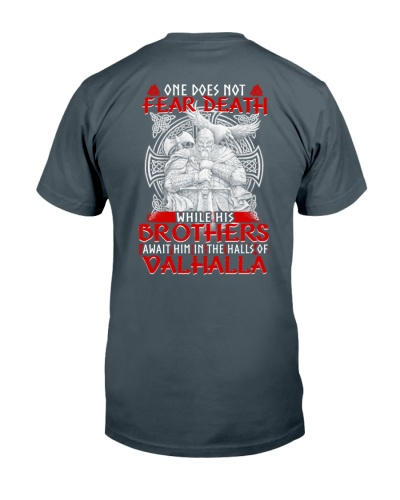 ONE DOES NOT FEAR DEATH - VIKING SHIRT