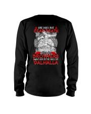 ONE DOES NOT FEAR DEATH - VIKING SHIRT Long Sleeve Tee thumbnail