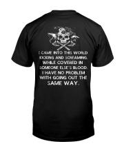Viking Shirt - I Came Into This World Classic T-Shirt back