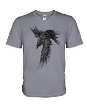 Viking Shirts - Raven - The Children of Odin V-Neck T-Shirt thumbnail