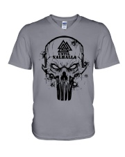 Viking Until Valhalla - Viking Shirts V-Neck T-Shirt thumbnail