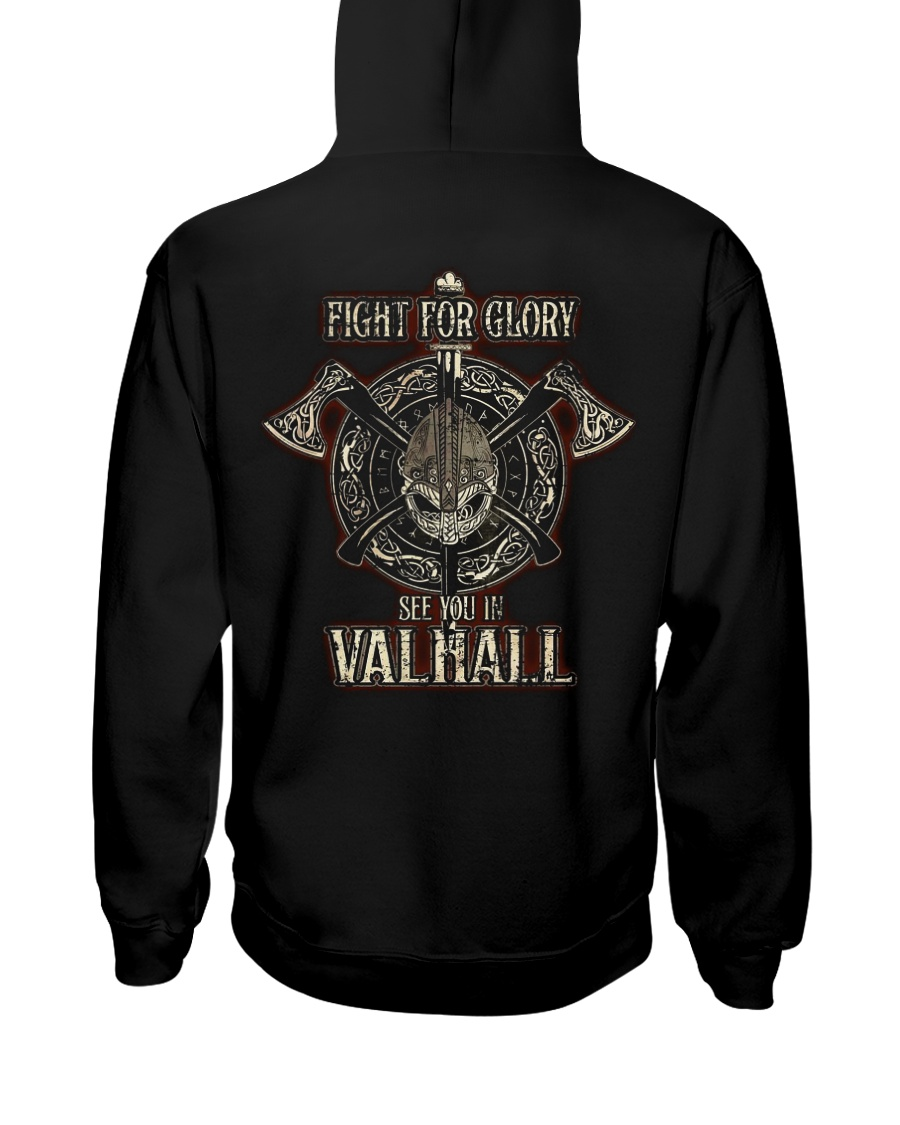 SEE YOU IN VALHALL Hooded Sweatshirt