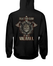 SEE YOU IN VALHALL Hooded Sweatshirt back