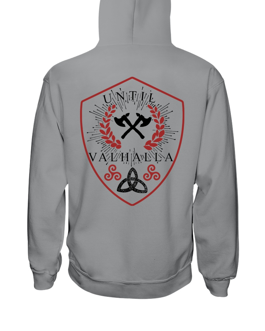 TILL VALHALLA - VIKING SHIRT Hooded Sweatshirt