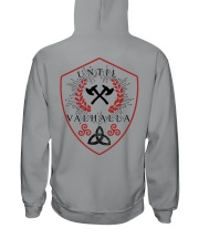 TILL VALHALLA - VIKING SHIRT Hooded Sweatshirt back