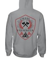 TILL VALHALLA - VIKING SHIRT Hooded Sweatshirt back