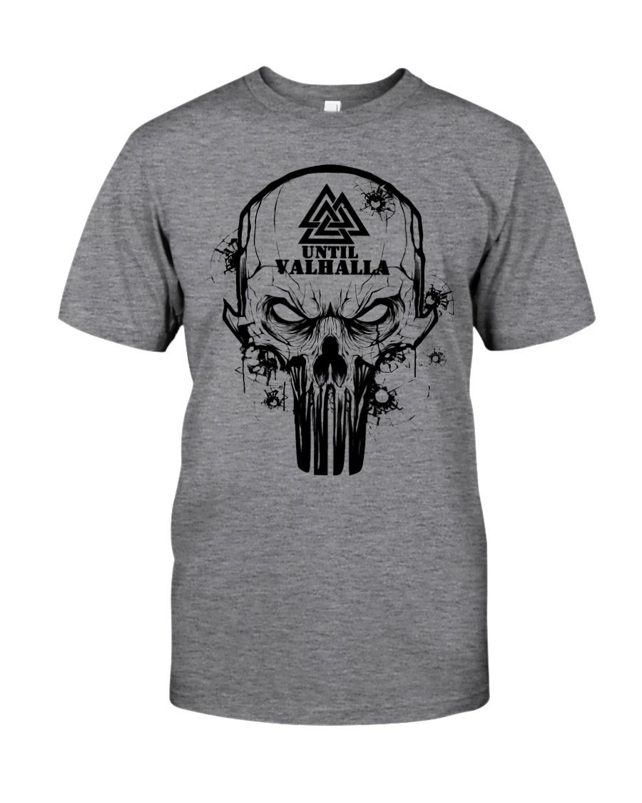 TILL VALHALLA - SKULL VIKING SHIRT Classic T-Shirt