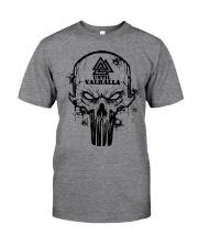 TILL VALHALLA - SKULL VIKING SHIRT Classic T-Shirt front