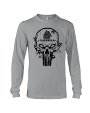 TILL VALHALLA - SKULL VIKING SHIRT Long Sleeve Tee thumbnail