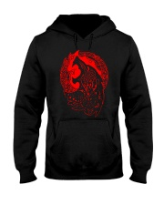 Viking Shirt - Viking Fenrir - Viking Wolf Hooded Sweatshirt thumbnail