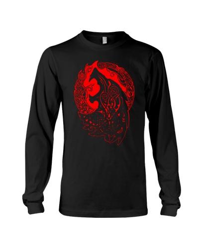 Viking Shirt - Viking Fenrir - Viking Wolf