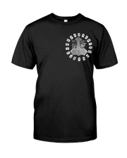 Viking Shirts - Viking Raven And Viking Hammer Classic T-Shirt thumbnail