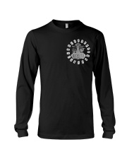 Viking Shirts - Viking Raven And Viking Hammer Long Sleeve Tee thumbnail
