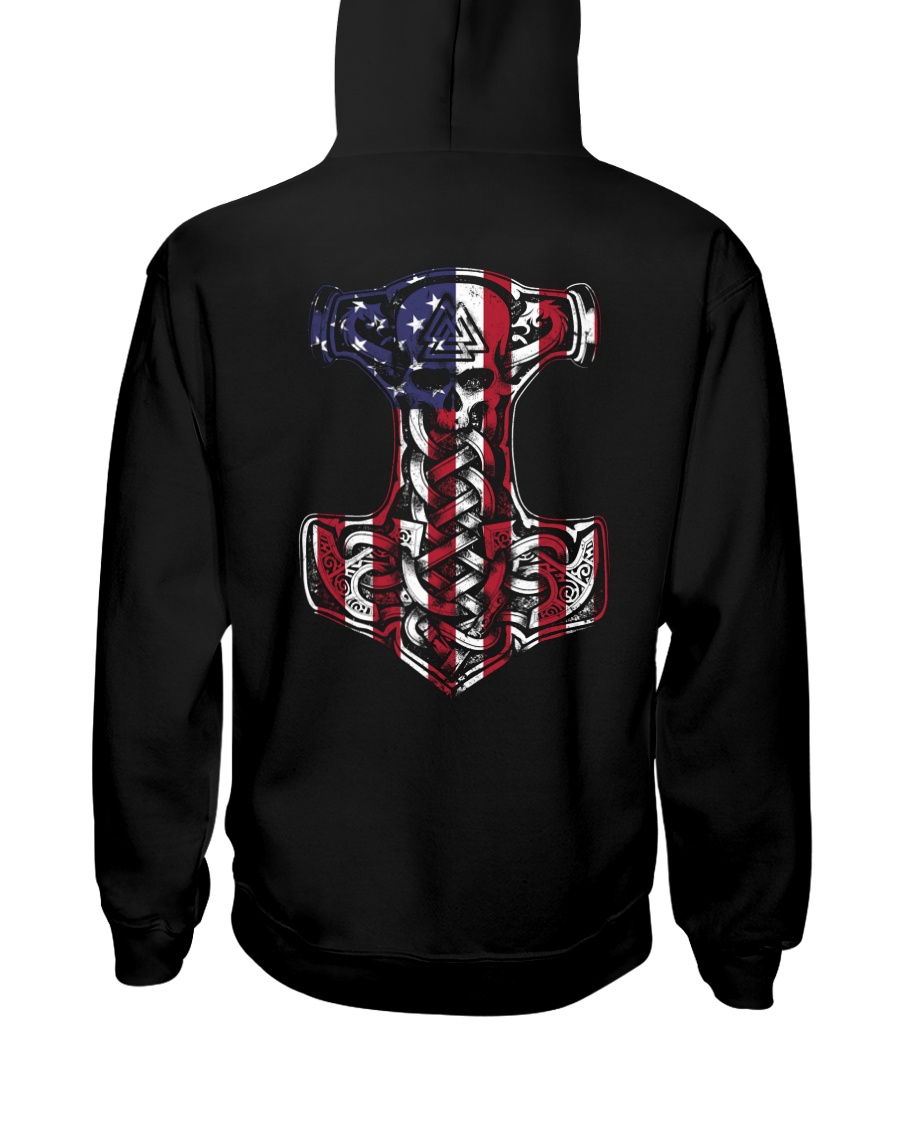 HAMMER FLAG - VIKING SHIRT Hooded Sweatshirt