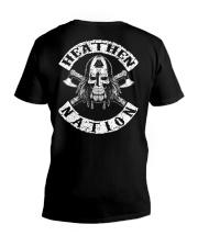 Viking Skull V-Neck T-Shirt thumbnail