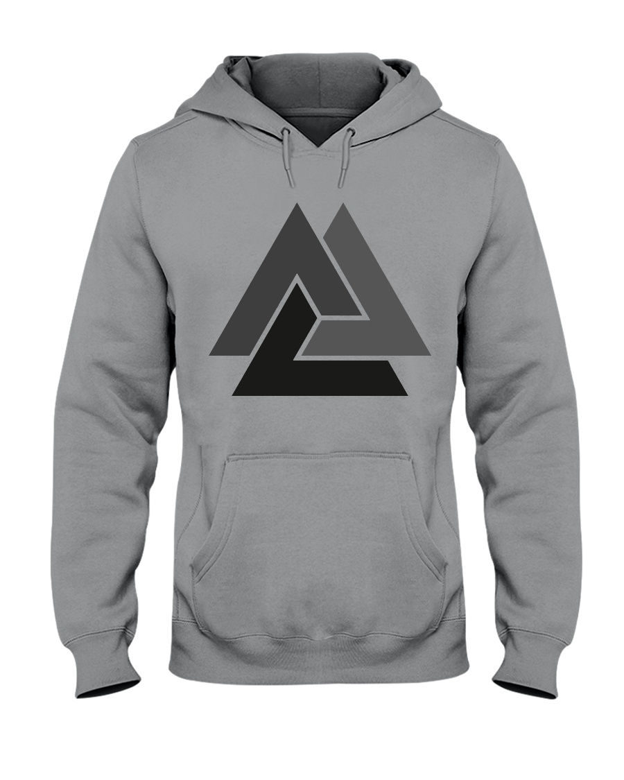 VALKNUT GRADIENT Hooded Sweatshirt