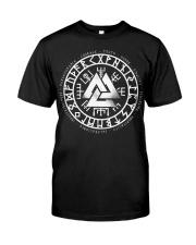 Viking Vegvisir Mean - Viking Shirt Classic T-Shirt front