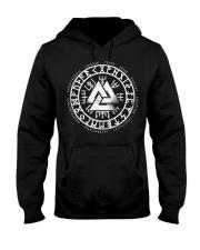 Viking Vegvisir Mean - Viking Shirt Hooded Sweatshirt thumbnail