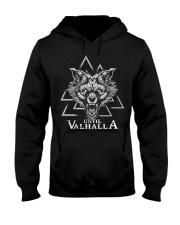 Valknut Wolf - Until Valhalla - Viking Beard Hooded Sweatshirt thumbnail