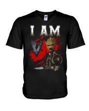 I AM VIKING V-Neck T-Shirt thumbnail