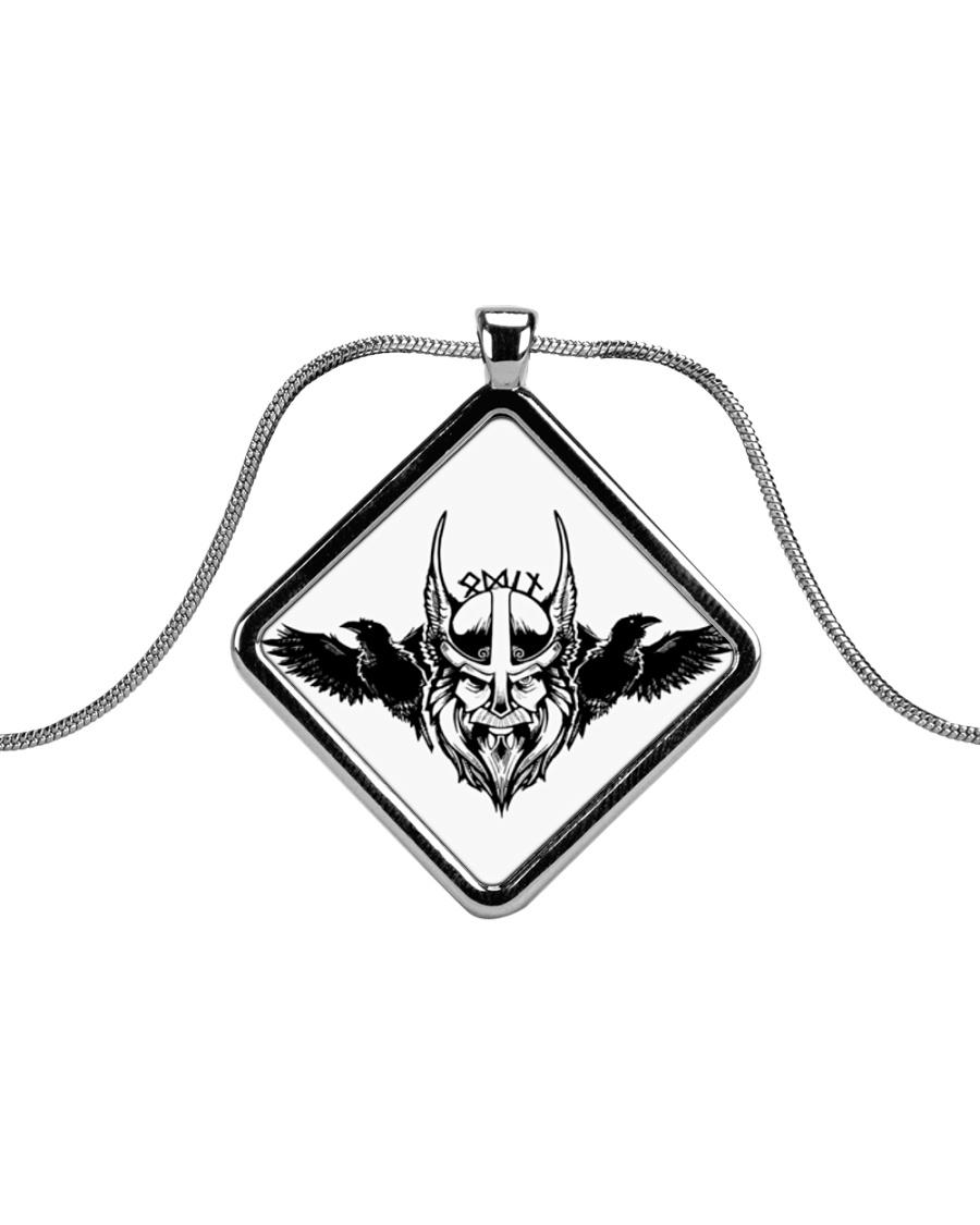 ODIN - Viking Necklaces Metallic Diamond Necklace