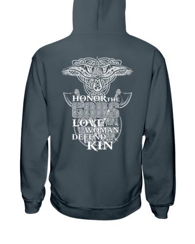 Honor Love Defend - Viking Shirt