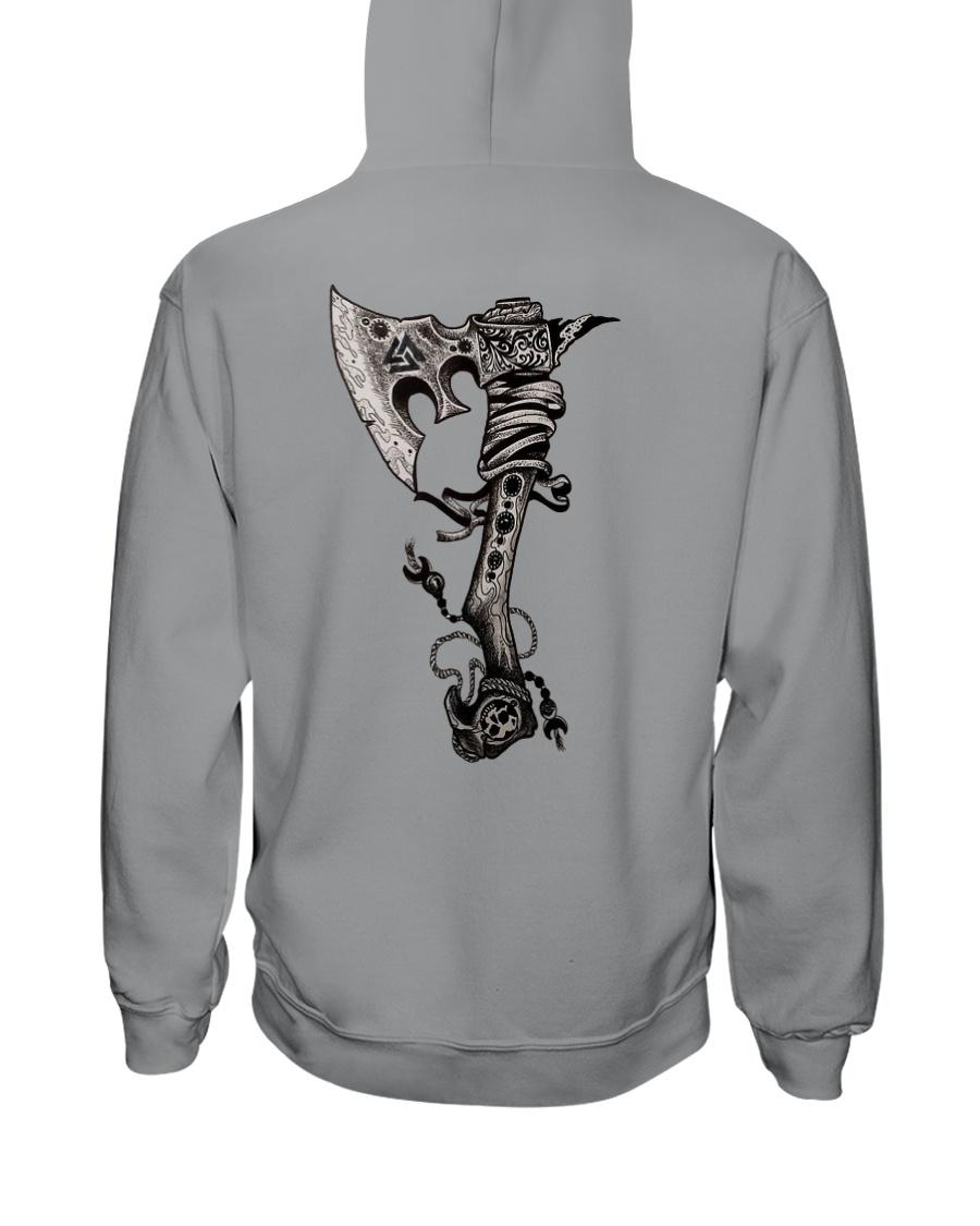 VIKING AXE Hooded Sweatshirt