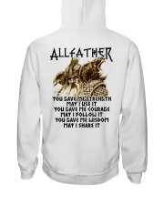 ALLFATHER Hooded Sweatshirt back