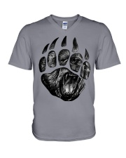 Bear Claw V-Neck T-Shirt tile