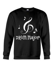 DRUM MAJOR MUSIC GIFT MARCHING BAND HOODIE Crewneck Sweatshirt thumbnail