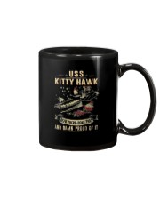 NAVY USS KITTY HAWK CV 63 T SHIRT Mug tile