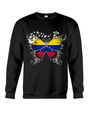 VENEZUELA FLAG SHIRT VENEZUELAN FLAG BUTTERFLY Crewneck Sweatshirt thumbnail