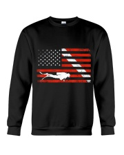 DIVER DOWN DIVE FLAG TSHIRT SCUBA DIVING AMERICAN  Crewneck Sweatshirt thumbnail