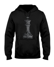 WORD CLOUD CHESS KING TSHIRT Hooded Sweatshirt thumbnail