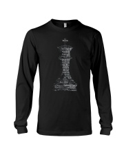 WORD CLOUD CHESS KING TSHIRT Long Sleeve Tee thumbnail
