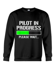 PILOT IN PROGRESS T SHIRT FUNNY FLIGHT SCHOOL STUD Crewneck Sweatshirt thumbnail