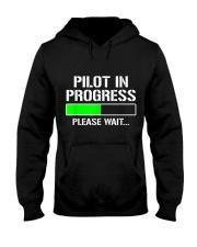 PILOT IN PROGRESS T SHIRT FUNNY FLIGHT SCHOOL STUD Hooded Sweatshirt thumbnail