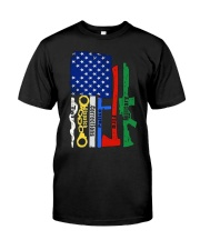 FIRST RESPONDER GIFT SHIRT EMS FIREFIGHTER POLICE  Premium Fit Mens Tee thumbnail