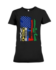 FIRST RESPONDER GIFT SHIRT EMS FIREFIGHTER POLICE  Premium Fit Ladies Tee thumbnail