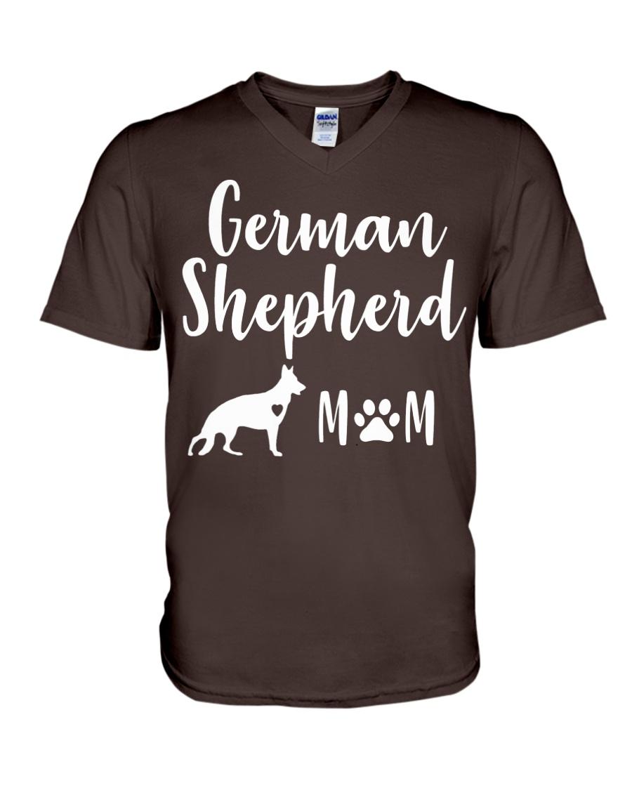 German Shepherd Mom Shirt - German Shepherd Mama V-Neck T-Shirt