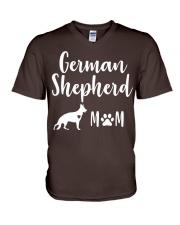German Shepherd Mom Shirt - German Shepherd Mama V-Neck T-Shirt front