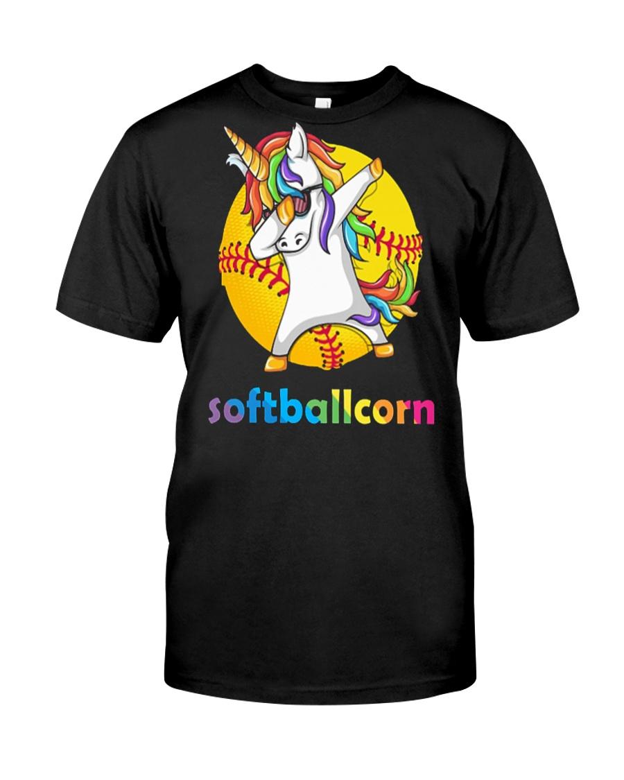 SOFTBALL UNICORN DABBING Classic T-Shirt