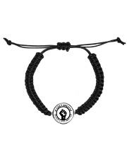 I CAN'T BREATHE  Cord Circle Bracelet front