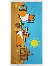Corgi Beach Towel  Premium Beach Towel thumbnail
