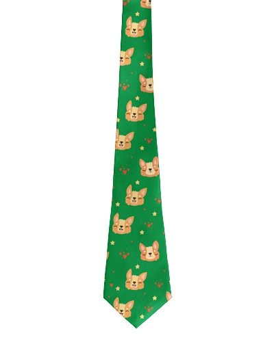 Corgi face tie - Order your copy now